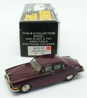 Gems & Cobwebs 1/43 Scale GC11 - 1961-66 Jaguar MkX - Maroon