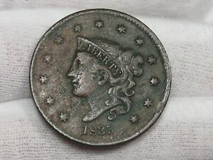 "1835 Large Cent Small ""8"". #24"