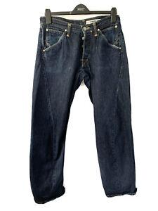 Levis Engineered Jeans 1999 Vintage 90s Blue Denim Twisted 32 W 34 L