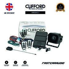 CLIFFORD ARROW 5.1 1 WAY CAR SECURITY ALARM WITH IMMOBILISER SIREN AND FOB KEYS