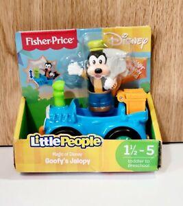 Fisher Price Little People Magic Of Disney Goofy's Goofy Jalopy Car Vehicle, New