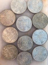 1000 X 1966 Round 50 cent coins Australian Silver Coins BULK SILVER