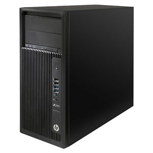 HP Workstation Z240 Core i7-6700K 4.0GHz 8GB DDR4 RAM 512GB SSD 2TB HDD NVIDIA