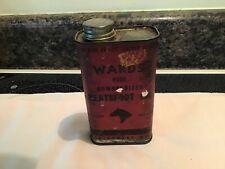 Vintage Wards Neatsfoot Oil Tin