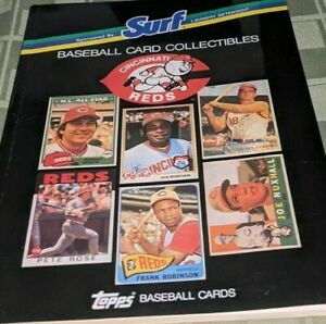 1988 Surf Topps Cincinnati Reds Baseball Cards  1952-87
