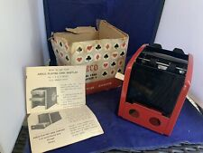 Vintage Hand Operated Metal Playing Card Shuffler by Arrco 1-3 Decks Japan Mint