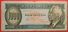 """FORINT 1000, Ungheria, 10/11/1983, km #173b, prefisso """"C"""""""