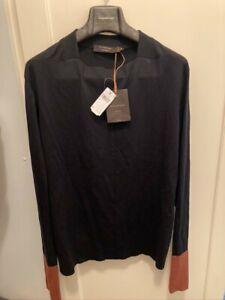 Ermenegildo Zegna Couture Cashmere / Silk sweater New with tags Size 50 EU
