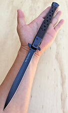 """13""""Giant Extra Large Spring Assisted Open STILETTO Pocket Tech Force Knife-547"""