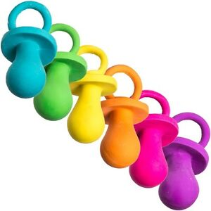 Spot Ethical Latex Puppy Pacifier Colors Vary (Free Shipping in USA)