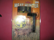 New Vital Gear 3 Pin Fiber Optic Meat Hunter Bow Sight-Scope-Deer Hunting-Broad