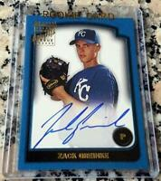 ZACK GREINKE 2003 Bowman Topps Certified Autograph Auto Rookie Card RC Astros $$