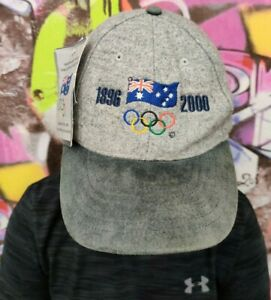 104 Years of Olympic Games Participation Australian 1896 - 2000 ISC Cap Hat