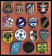 lot 15 pins European Clubs football mix pins badges European Clubs pins football