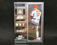 2018 Contenders Optic Shohei Ohtani Season Ticket RC Rookie Angels #9