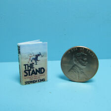 Dollhouse Miniature The Stand Readable Stephen King Book TIN3075