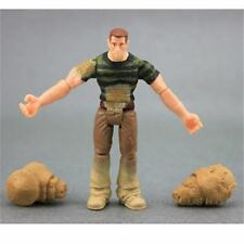 "rare 3.75"" MARVEL LEGENDS SPIDER-MAN SANDMAN hasbro figure kid toy w/ 2 HANDS"