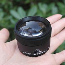 Bonayuanda Jeweler Optics Loupes Magnifier Loop Microscope Magnifying Glass Lens