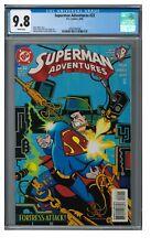 Superman Adventures #22 (1998) DC Comics CGC 9.8 EB548