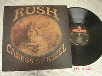 "Rush  ""Caress Of Steel""   Vintage Vinyl  LP Mercury – SRM-1-1046 q2"