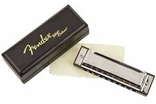 Fender Blues Deluxe 10-Hole Harmonica in the Key of Bb with Case
