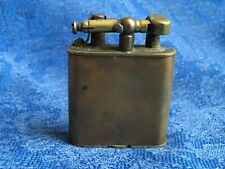 Antique Brass Dunhill Swing Arm Cigarette Lighter - Art Deco Style