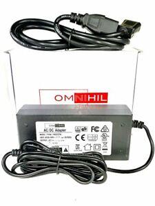 [UL Listed] 8 Feet Long AC/DC Adapter for Datamax O'Neil E-4204B Mark III