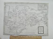 """Vintage MAP, TABULA NOVAE FRANCIAE,Anno 1660,13"""" x 17 3/4"""""""
