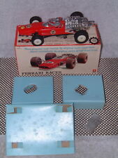 BANDAI TIN FERRARI RACER WITH DUAL SPEEDS & DIRECTIONS & BOX! WORKS PERFECTLY!