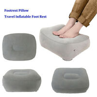 Soft Plane Train Flight Travel Inflatable Foot Rest Portable Footrest Pillow KP