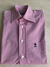 "CHEMISE ""RIVER WOODS"" MANCHES LONGUES LIGNEE ROSE/ROUGE CLAIR - TAILLE : S"