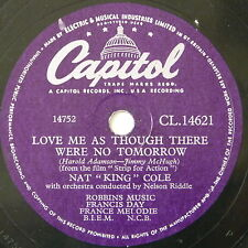78 record in frame LOVE ME AS THOUGH NO TOMORROW / THATS ALL THERE IS TO THAT