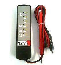 12v Car Intelligent battery alternator condition Tester van camper or boat test