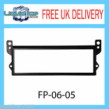 BMW Mini 2001 - 2006 Black Fascia Facia Adaptor Panel Surround Stereo