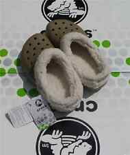 CROCS MAMMOTH BLITZEN POLAR KIDS BAYA SHOE~Brown Tan White~Toddler C6/7~NWT