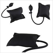 Black DIY Powerful Pump Air Wedge Airbag Lock Car SUV Door Opener Inflatable Kit