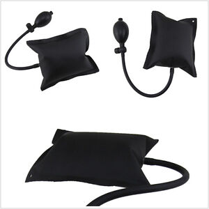 Black DIY Powerful Pump Air Wedge Airbag Lock Car Pickup 4X4 Door Inflatable Kit
