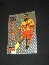 FOE RACING CLUB DE LENS  FOOTBALL CARDS CARTE PREMIUM panini 1995 JOKERS
