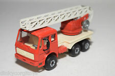 GAMA POLYMA MERCEDES BENZ FIRE ENGINE LADDER TRUCK NEAR MINT CONDITION