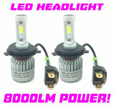 Se adapta a Chrysler-H4 COB LED Bombillas De Faros Kit 8000 LM 12 V 24 V 100 W CANBUS