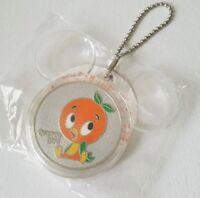 Tokyo Disney Resort Orange Bird Chain Coin Charm Limited Orange Day Souvenir