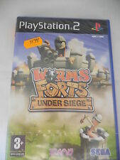 WORMS FORTS:UNDER SIEGE playstation 2