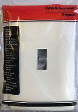 Pass & Seymour / Legrand Single-Gang Screwless Toggle Switch Wall Plate - White