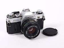 Cámara de película de Canon AE-1 & Canon FD 50mm F1.8 M/F Lente