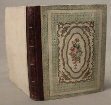 Early Victorian Ladies Album of Paintings Sketches and Prints c1848
