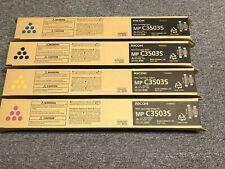 New & Genuine Ricoh 841829 841830 841831 841832 Full Toner Set CMYK MP C3503S