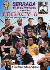 Serrada Escrima Seminar 2018 - 5 DVD Box Kali Arnis Latosa Eskrima Balintawak