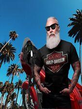 Harley Davidson Rider Latino Rider T-shirt - Size Xl,2xl,3xl Motorcycle Rider