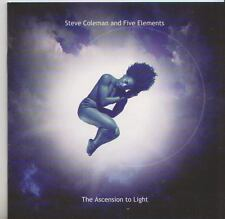 STEVE COLEMAN AND FIVE ELEMENTS   CD  THE ASCENSION TO LIGHT