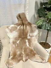 "New Genuine Goat Rug skin Area Rug Goathide Rug(42""X 27"")-AB17"